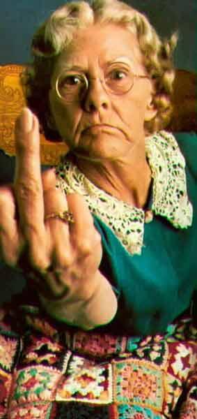 granny-middle-finger